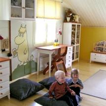 Sisustus Idea lastenhuone